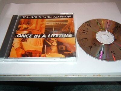 Talking Heads - Once In A Lifetime The Best Of    Cd Album