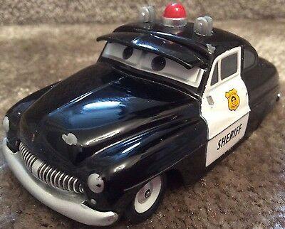 Disney Cars Large 1:43 Scale...sheriff Die Cast Car