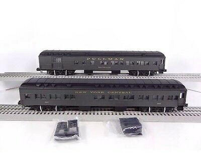 Lionel New York Central NYC Heavyweight 2 Car Passenger Set 6-29008 6-29009 NEW