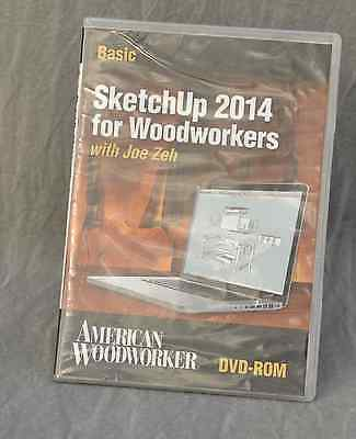 Sketchup 2014 for Woodworkers DVD