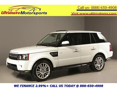 2012 Land Rover Range Rover Sport 2012 SUPERCHARGED 4x4 NAV SUNROOF LEATHER HEATSEAT 2012 LAND ROVER RANGE ROVER SPORT SUPERCHARGED 4x4 NAV SUNROOF LEATHER WHITE