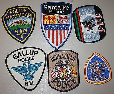 6 RT. 66 police patches