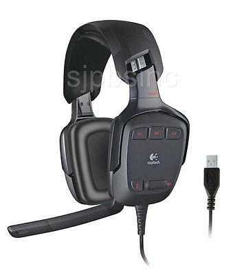 Logitech G35 7.1-Channel Surround Sound Reduced Background Noise Headset Gaming