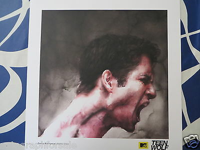 Teen Wolf 2015 Comic-Con SDCC 18x18 artwork print litho lithograph poster Scott