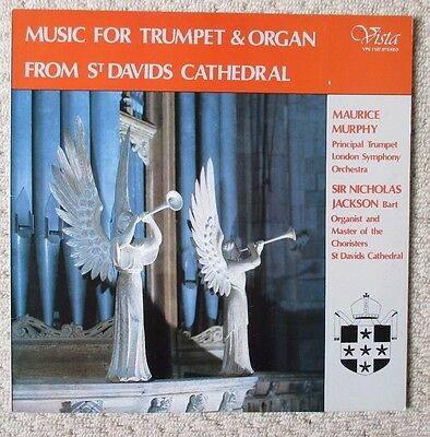 MUSIC FOR TRUMPET & ORGAN from ST. DAVIDS CATHEDRAL - Jackson / Murphy  Vista LP