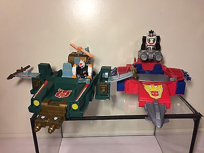 Transformers G1 Action Masters Attack Cruiser - Turbo Racer 1990 Vintage❗RAR❗