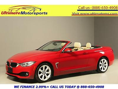 2014 BMW 4-Series 2014 435i NAV LEATHER SPORT+ MODE WARRANTY 2014 BMW 435i NAV LEATHER HEATSEAT SPORT+ MODE RED WARRANTY