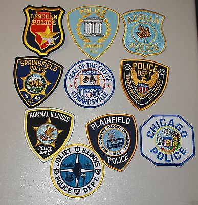 10 RT. 66 police patches