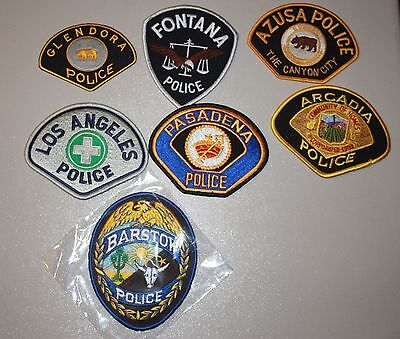 7 RT. 66 police patches
