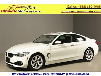 "2014 BMW 4-Series 2014 435i SUNROOF LEATHER SPORT+ MODE WARRANTY 2014 BMW 435i SUNROOF LEATHER SPORT+ MODE ECO PRO MODE 18""ALLOYS WHITE WARRANTY"