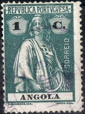 Angola.  1914.  Ceres Definitive.   SG207.  Used.