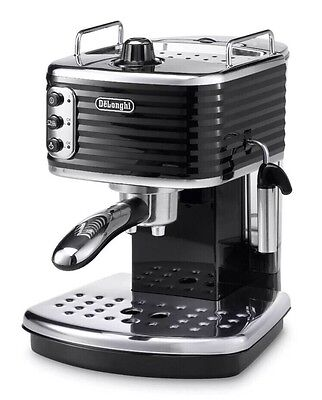 Delonghi Scultura ECZ 351.BK Espresso Coffee Machine Black 1100W
