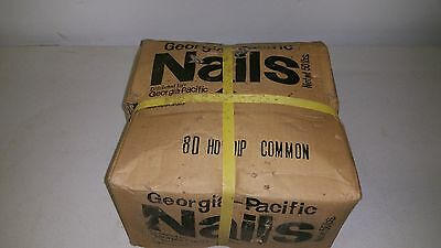50 lbs. - Georgia Pacific 8D Hot Dipped Common Nails