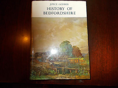 History of Bedfordshire 1066-1888 by Joyce Godber.Hardback Book 1969.