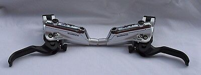 Shimano XT M785 Hydraulic Disc Brake Lever Silver (Pair)