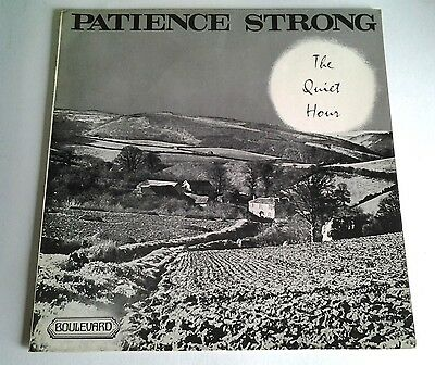 "Patience Strong - The Quiet Hour - 12"" Lp - 1963"