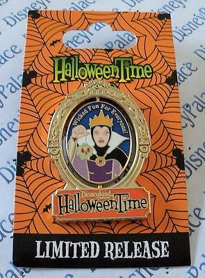 Disney HalloweenTime Old Hag Evil Queen Spinner Limited Release Pin