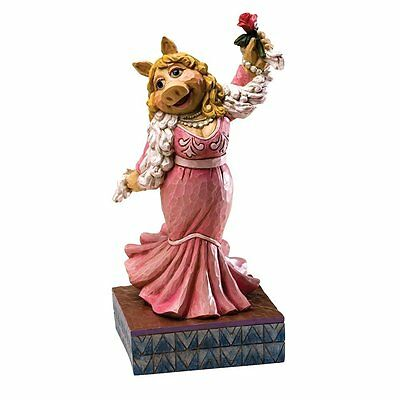 Disney Traditions Jim Shore Miss Piggy Diva Moi figurine The Muppet Show 4020801