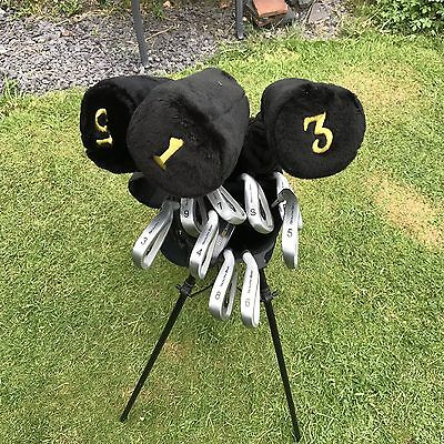 South Bay Graphite Golf Set With Trolley