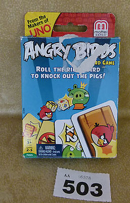 Angry Birds Card Game : Prev Owned All Complete : Box shows wear. See Listing