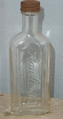 VINTAGE 1935's RAWLEIGH'S EMBOSSED GLASS MEDICINE BOTTLE - CONSUMER GLASS CO.