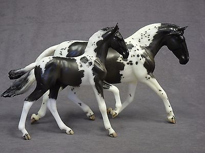 Breyer * Hermosa & Corazon * 90173 Pinto Andalusian Traditional Model Horse