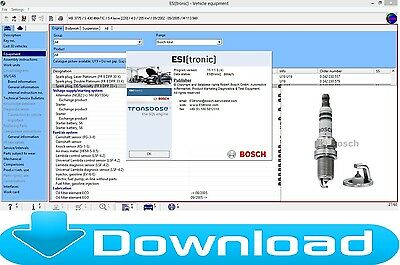 CAR Software Bosch ESI 1.0 2016/1 A1 A2 B1 B2 B3+ACTIVATOR