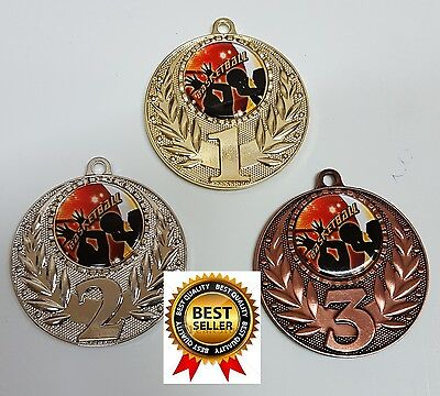 1 x 50mm BASKETBALL MEDAL,TROPHY,AWARD COME WITH Free engraving,Free ribbons