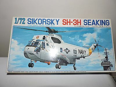 FUJIMI 1/72nd SCALE SIKORSKY SEA KING MODEL KIT ( #7A28 )