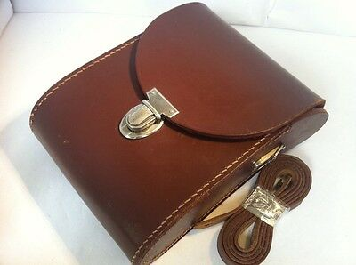 Genuine Carl Zeiss Binoculars Leather Case for 8x30 JENOPTEM+Strap Germany Made