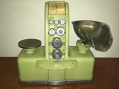 Vintage Detecto Balance Scale Candy Store Series - 1D  #3567 w/Matching # Tray !