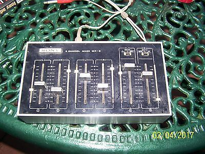 Sony 6 Channel Mixer Mx-8