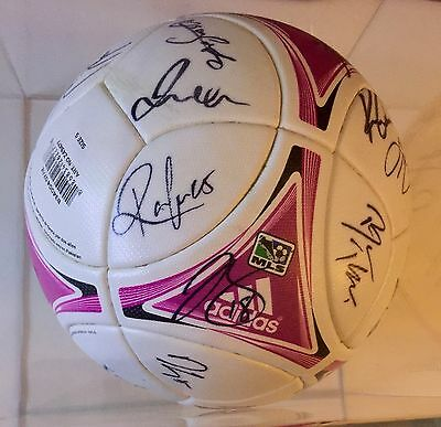 David Beckham Signed Autographed Adidas Game Used Ball LA Galaxy
