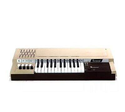RARE VINTAGE BONTEMPI B4 ELECTRIC 8-CHORD KEYBOARD ELECTRIC Organ PIANO