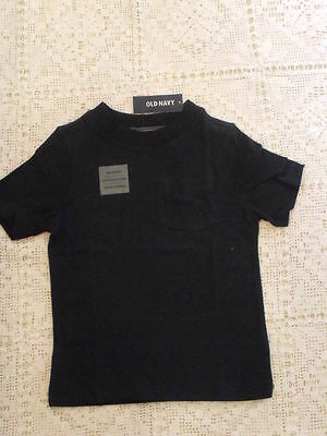 Boys Tee shirt Navy Blue with pocket, Short Sleeve size 4T Old Navy  new  NWT