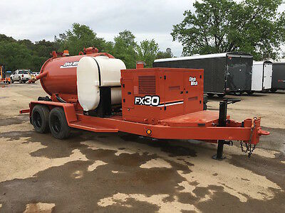 2001 Ditch Witch Fx30 T/a 800 Gal Diesel Vacuum Trailer-New Paint-New Hoses!
