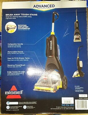 BISSELL PowerForce PowerBrush Full-Size Carpet Cleaner, 47B2W