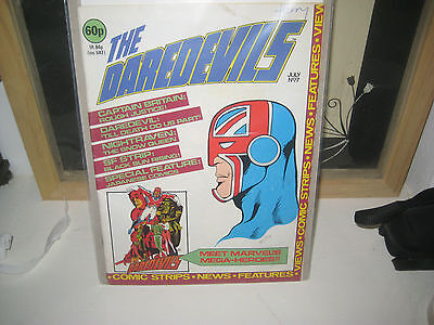 The Daredevils #7 (1St Appearance Miracleman) Vfn 1983 Marvel Bronze Age Uk