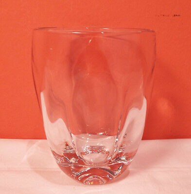 Imperial Glass PINCH Clear 14oz Tumbler 5 available EXLNT Russel Wright Crystal