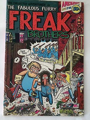 The Collected Adventures of the Fabulous Furry Freak Brothers Library Cover 50 c