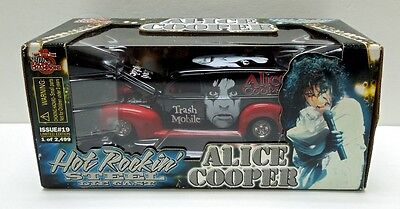 ALICE COOPER TRASH MOBILE '40 Ford 1/24 SCALE Die Cast 1999 Racing Champion RARE