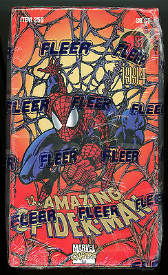 Fleer '94 AMAZING SPIDER-MAN (1st Edition) - Factory Sealed BOX - 36 Packs