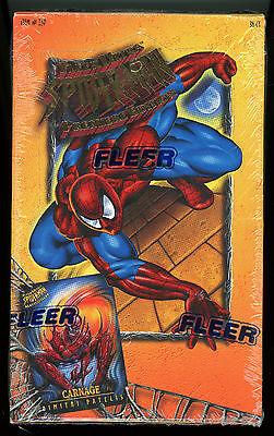 '95 FLEER ULTRA SPIDER-MAN Premiere Edition - Factory Sealed BOX - 36 Packs