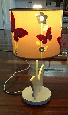 childrens butterfly bedside lamp