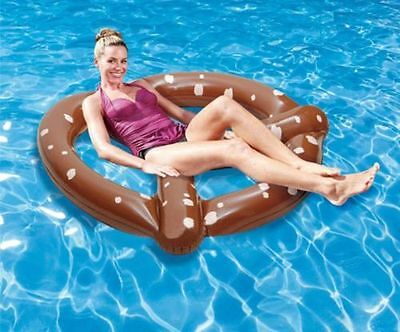 Giant Pretzel Fun Inflatable for Outdoor Swimming Pool Pool Raft Boats