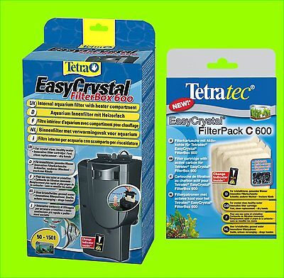 TETRA EasyCrystal FilterBox 600 f50-150l. M heizerfach 1 x FilterPack C