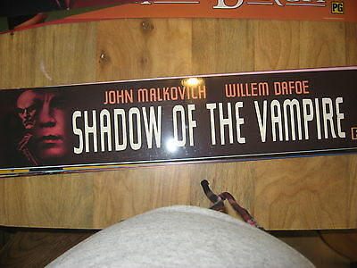 Theater Marquee Mylar Shadow of the Vampire