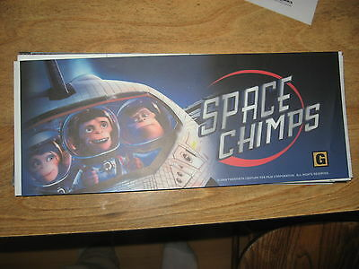 Theater Marquee Mylar Space Chimps