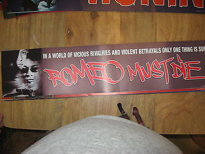 Theater Marquee Mylar Romeo Must Die