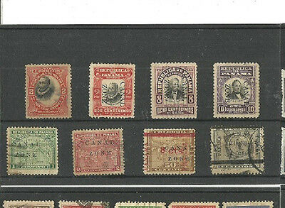 (CB-S-54a)Stamps, Canal Zone,great lot